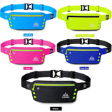 Outdoor Running Waist Bag Waterproof Mobile Phone Holder Jogging Belt Belly Bag Man Women Fitness Bag Sport Accessories