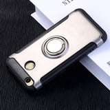 Magnetic Suction Phone Case For 4X mi4x 4A 3S Luxury Ring Holder Cases For Redmi Note 4X note 3 Cover Accessories