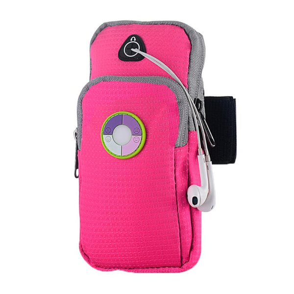 Universal Running Arm Bag Cycling Armband Pouch Bag Holder with UV Monitoring Arm Band Case Bag Phone Accessories Cover Cases