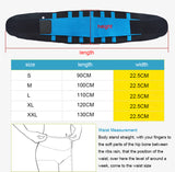 Men And Women Neoprene Lumbar Waist Support Waist Trimmer Belt Unisex Exercise Weight Loss Burn Shaper Gym Fitness Belt