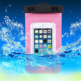 Waterproof Phone Case With Clips Drifting Swim Dive Bag Phone Accessories