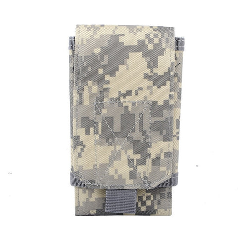 Tactical Waist Phone Belt Pouch Molle 5.5 Inch Cellphone Pouch Military Mobile Phone Pouches Accessory Bags
