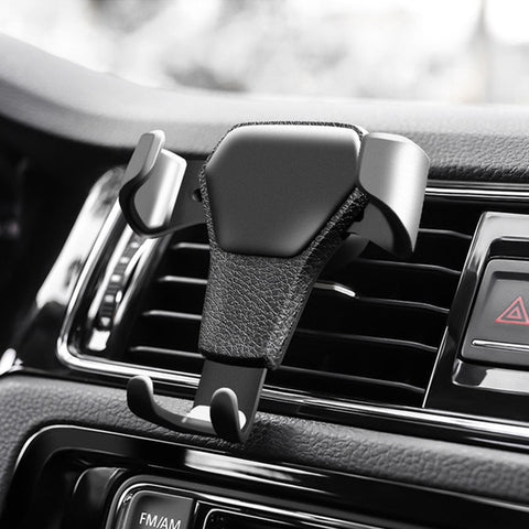 Universal Gravity Phone Holders For Phone In Car Air Vent Mount Stand Hot Sale No Magnetic Smartphone Bracket Accessories
