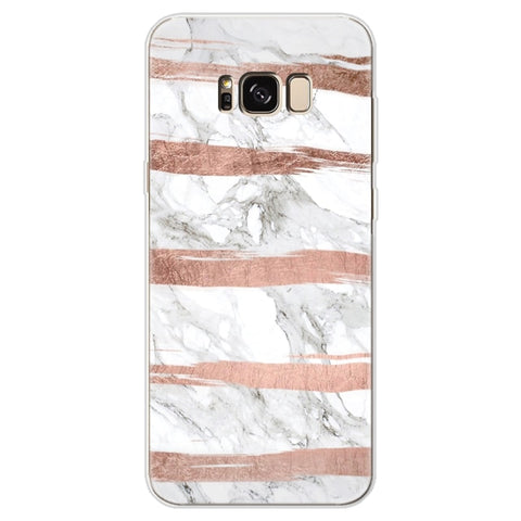 Cover For Samsung Galaxy A30 A50 J2 J7 Prime S6 S7 Edge S8 S9 Plus A3 A5 A6 A8 Note 8 9 2016 2017 2018 Marble