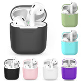 Silicone Bluetooth Wireless Earphone Case For AirPods 1 Protective Cover Skin Accessories For Apple AirPods 2nd Charging Box