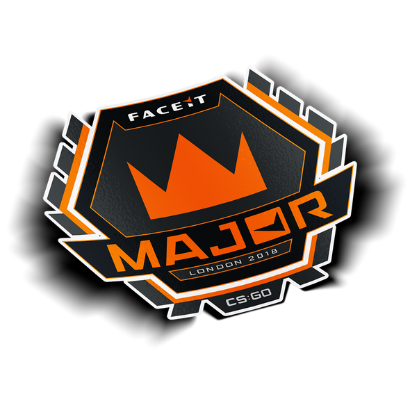 FACEIT Major Emblem Sticker - ECS Official EU Store
