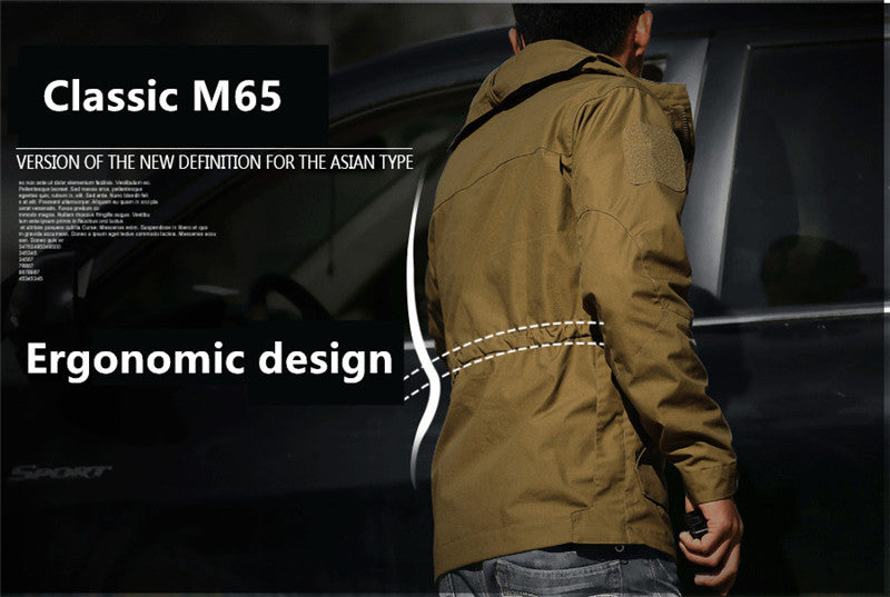 Men's Military Tactical M65 Style Outdoor Gear Winter Jacket - 3 Colors