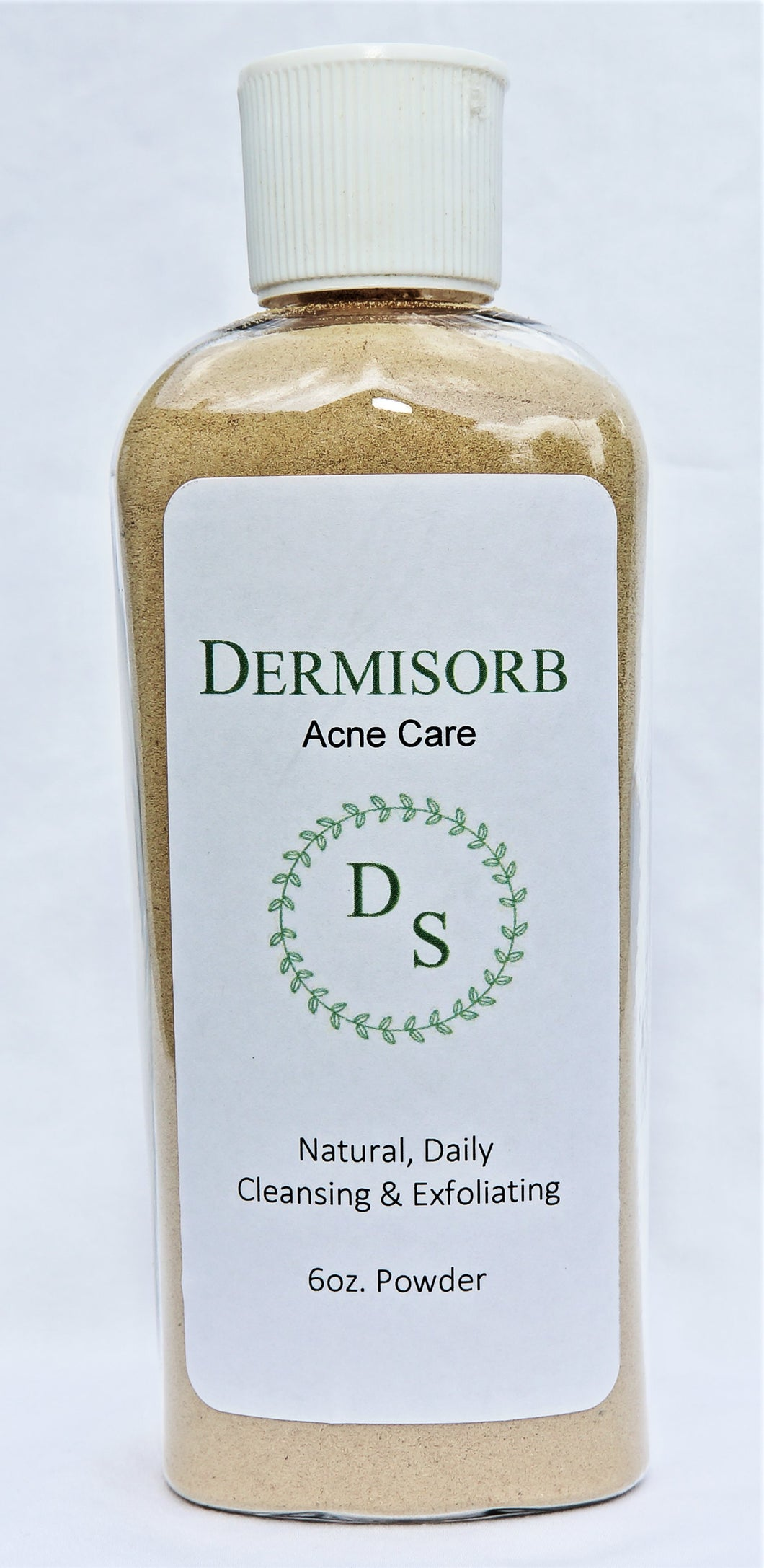 DermiSorb Acne Care, bottle:  6-oz powder