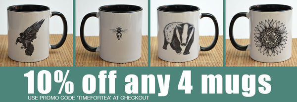 10% off any 4 mugs