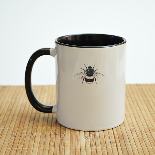 Bumblebee Art Ceramic Mug