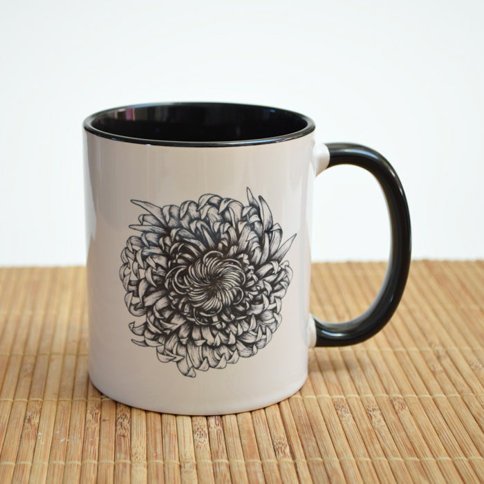 Chrysanthemum Ceramic Mug