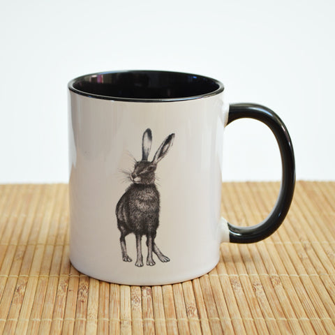 Hare Art Ceramic Mug