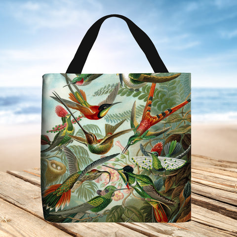 Tote Bag - Trochilidae by Ernst Haeckel