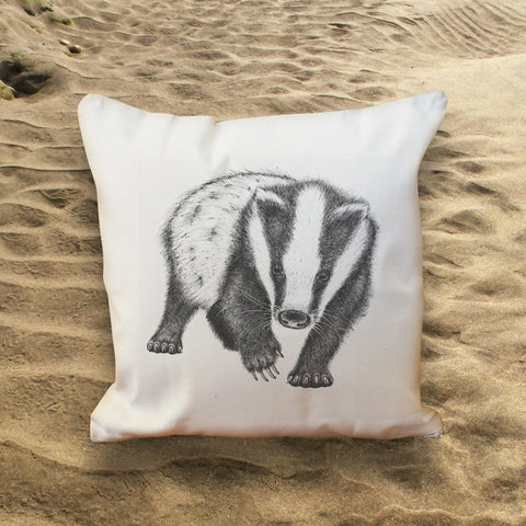 Badger Throw Cushion.