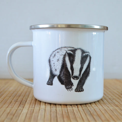 Badger Enamel Mug