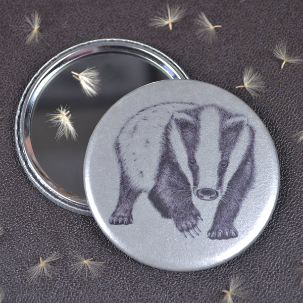 Badger compact pocket mirror