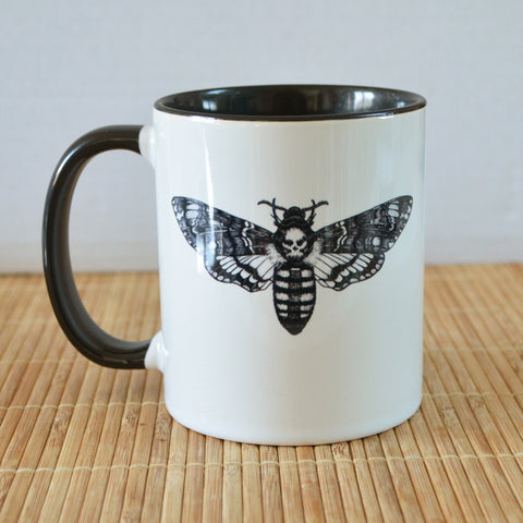 Deaths Head Hawkmoth Art Ceramic Mug
