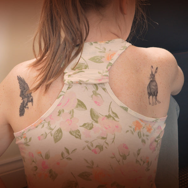 Multibuy deal - 5 temporary tattoos