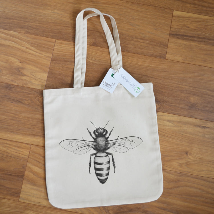 EarthAware Honey Bee tote