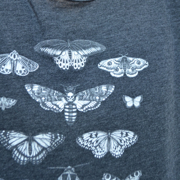 Ladies Loose Fit T-Shirt - Butterflies & Moths