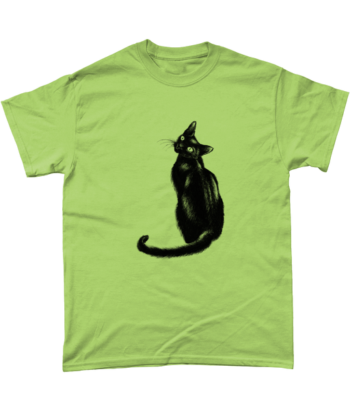 Men's Black Cat t-shirt