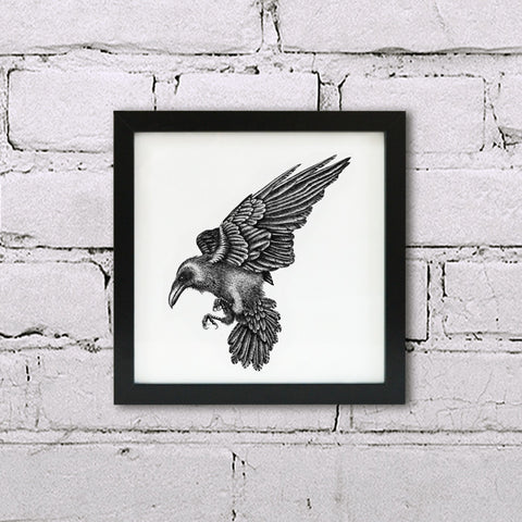 Ink Raven wall art