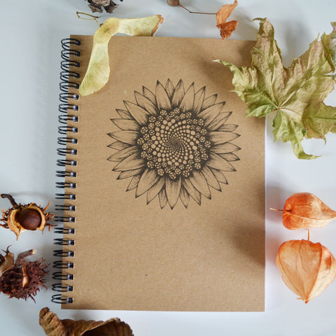 Sunflower Art - A5 Ethical Journal
