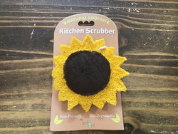 Sunflower Kitchen Scrubber