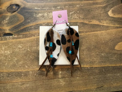 Carol Su Asstd. Handmade Leather Earrings