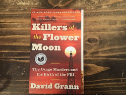 Killers of the Flower Moon-Paperback Book