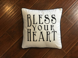 Cotton Pillow with a Southern Sayings