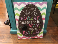 Easter Countdown Wall Hanging
