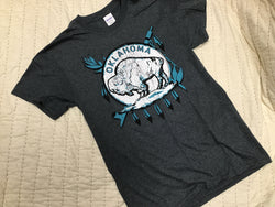Oklahoma Buffalo Shield T-Shirt
