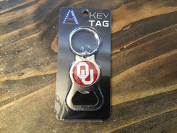 Bottle Opener Key Ring, OU