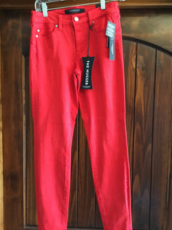 Liverpool Red Hugger Ankle Jeans