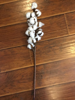 "26"" Decorative Cotton Stem"