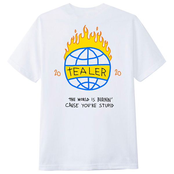 World is burning - Tealer