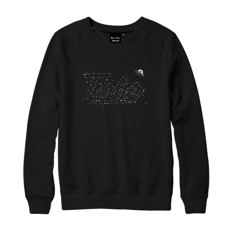 Rick & Morty Galaxy Crewneck Black