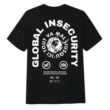 Global Insecurity Tee Black