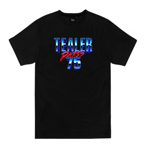 Paris 75 Black - Tealer