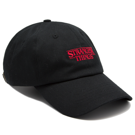 Cap Stranger Things Black