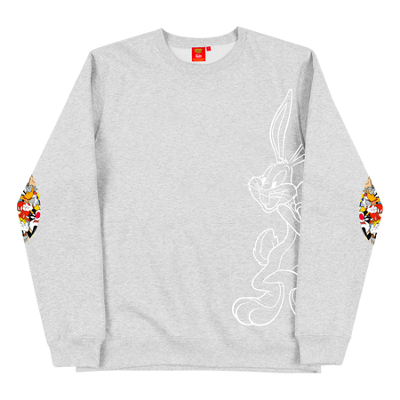 Crewneck Bugs Heather Grey