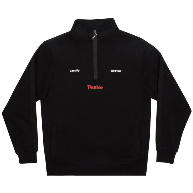 Crewneck Half-zip Waver