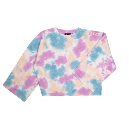 Dreamin Paint Crop Crewneck