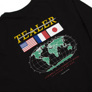 Long Tee World Black
