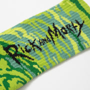 Socks Rick & Morty Green