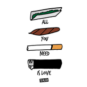 All you need is love - Tealer