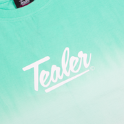 Crop Tee Gradiant Green