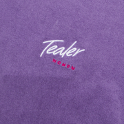 Pool Party Crop Tee Purple
