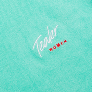 Pool Party Crop Tee Mint